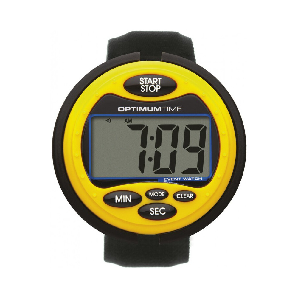 Optimum Time Eventwatch in Yellow