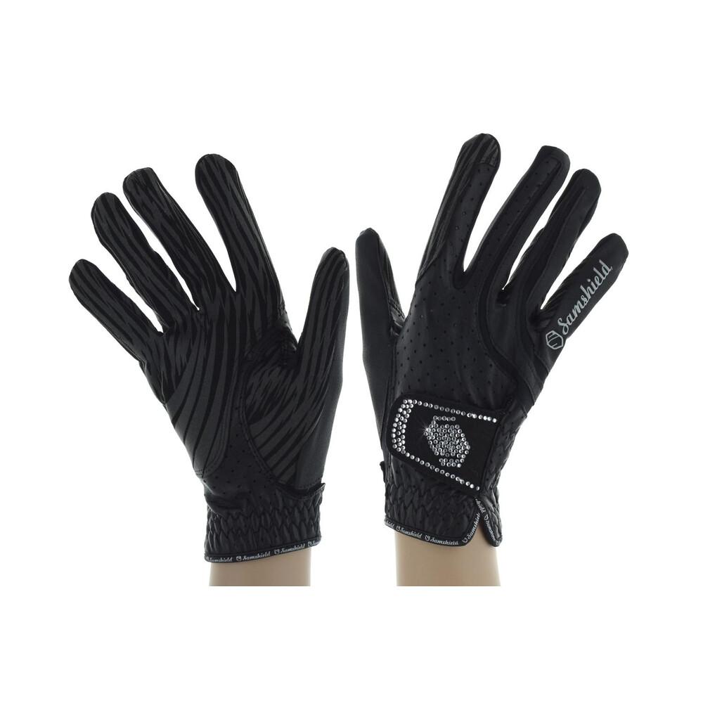 Samshield Gants V-Skin SWAROVSKI Glove - Black in Black