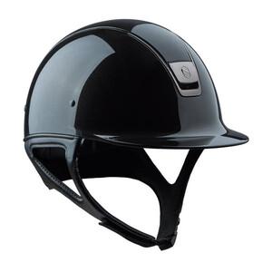 Samshield Shadow Glossy Standard Metallic - Black in Metallic Black