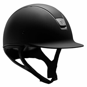 Samshield Shadowmatt Helmet Adult Black (Titanium) in Black