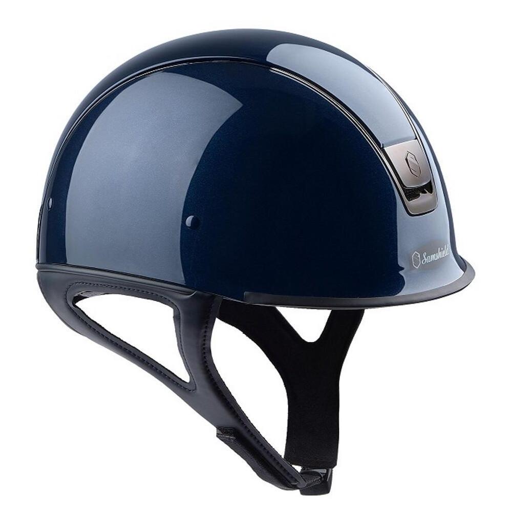 Samshield Shadow Race Glossy Metallic Blue in Metallic Blue