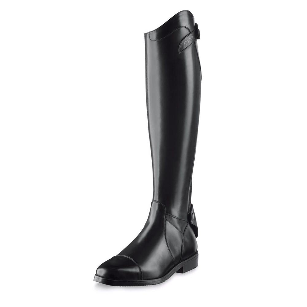 Equijump EGO-7 Aries Black - Calf X-Small in Black