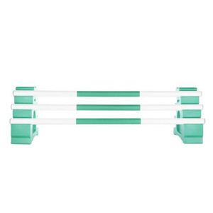 Classic Jumps 3 Band Pole in Forest Green