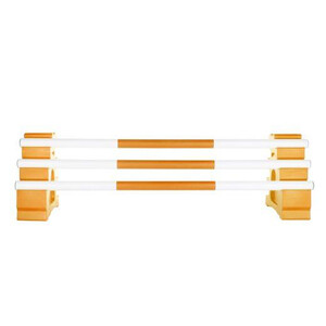 Classic Jumps 3 Band Pole in Orange