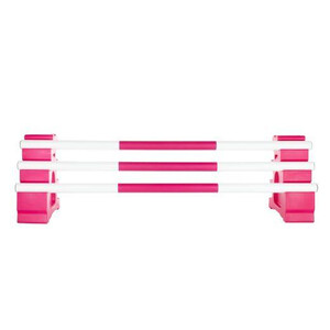 Classic Jumps 3 Band Pole in Pink