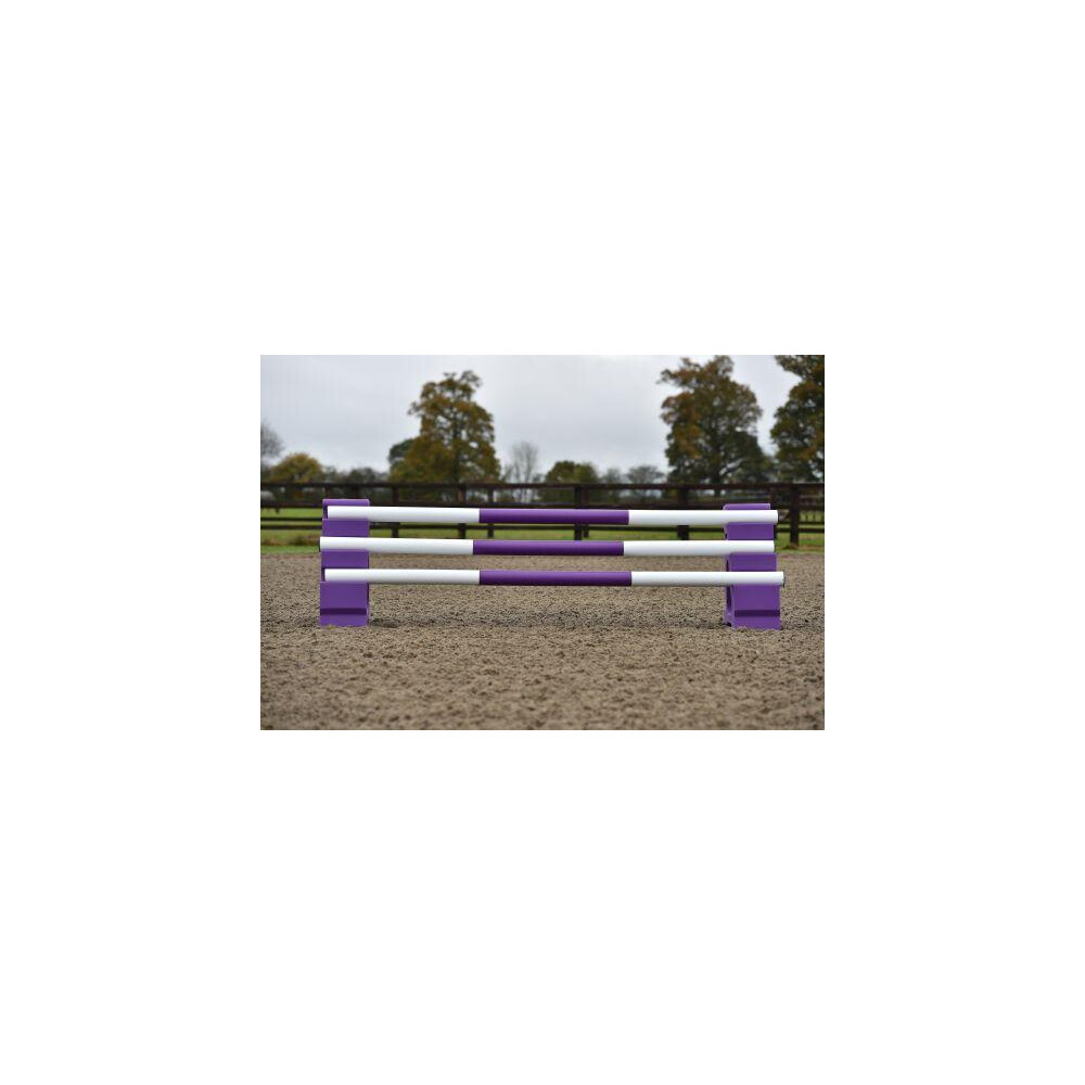Classic Jumps 3 Band Pole in Purple