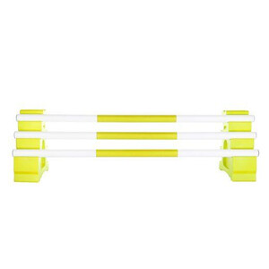 Classic Jumps 3 Band Pole in Yellow