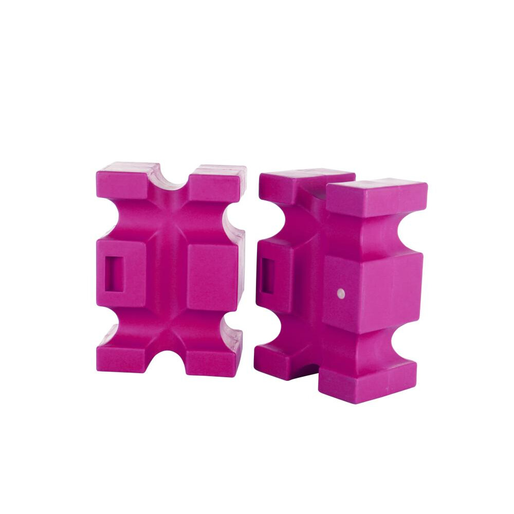 Classic Jumps Parallel Block(set of 2) in Pink
