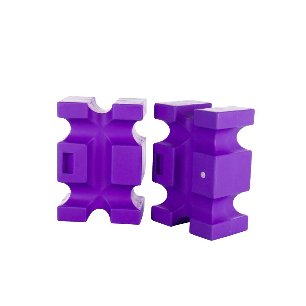 Classic Jumps Parallel Block(set of 2) in Purple