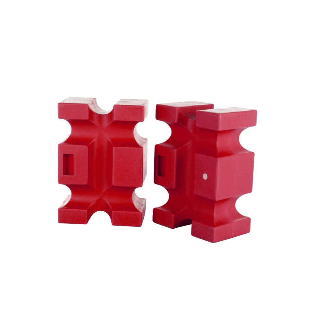 Classic Jumps Parallel Block(set of 2) in Red