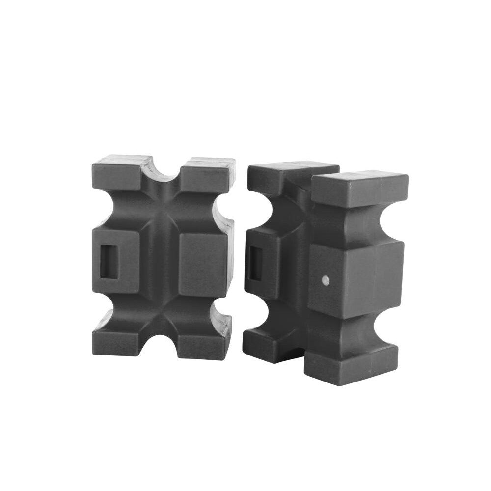 Classic Jumps Parallel Block(set of 2) in Black
