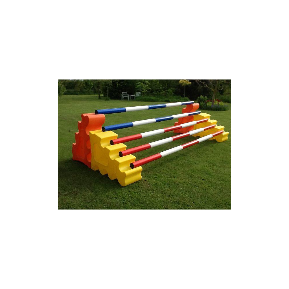 Classic Jumps Sloping Block (set of 2) in Yellow