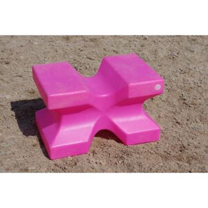 Classic Jumps - X Block (set of 2) in Pink