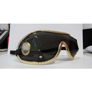 Zilco Goggles Clear Lenses in Clear/Brown Trim
