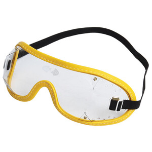 Zilco Goggles Clear Lenses in Clear/Yellow Trim