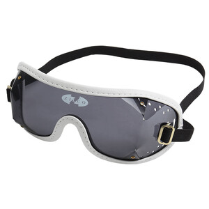 Zilco Goggles Smoke Lenses in Smoke/White Trim