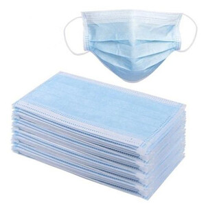 HKM Disposable Face Mask For Mouth And Nose - 5 Pieces