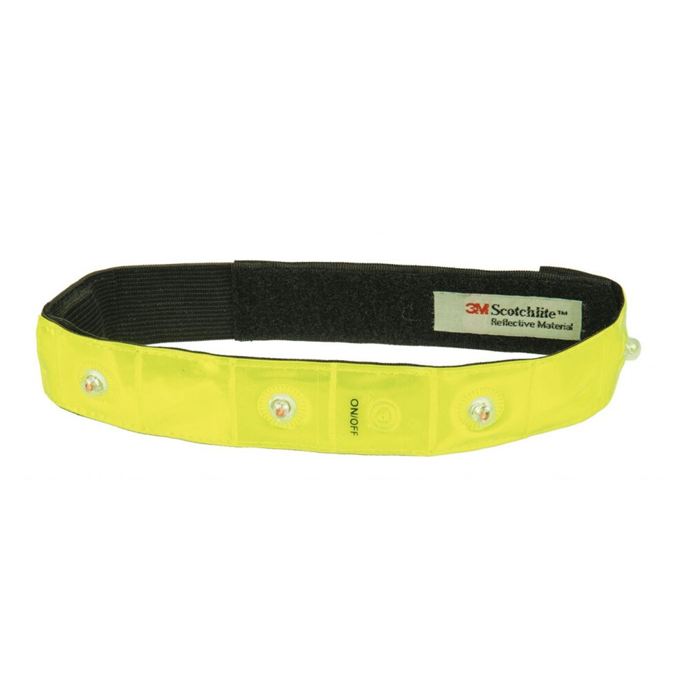 HKM Led Reflecting Band With Touch Close Straps in Unknown