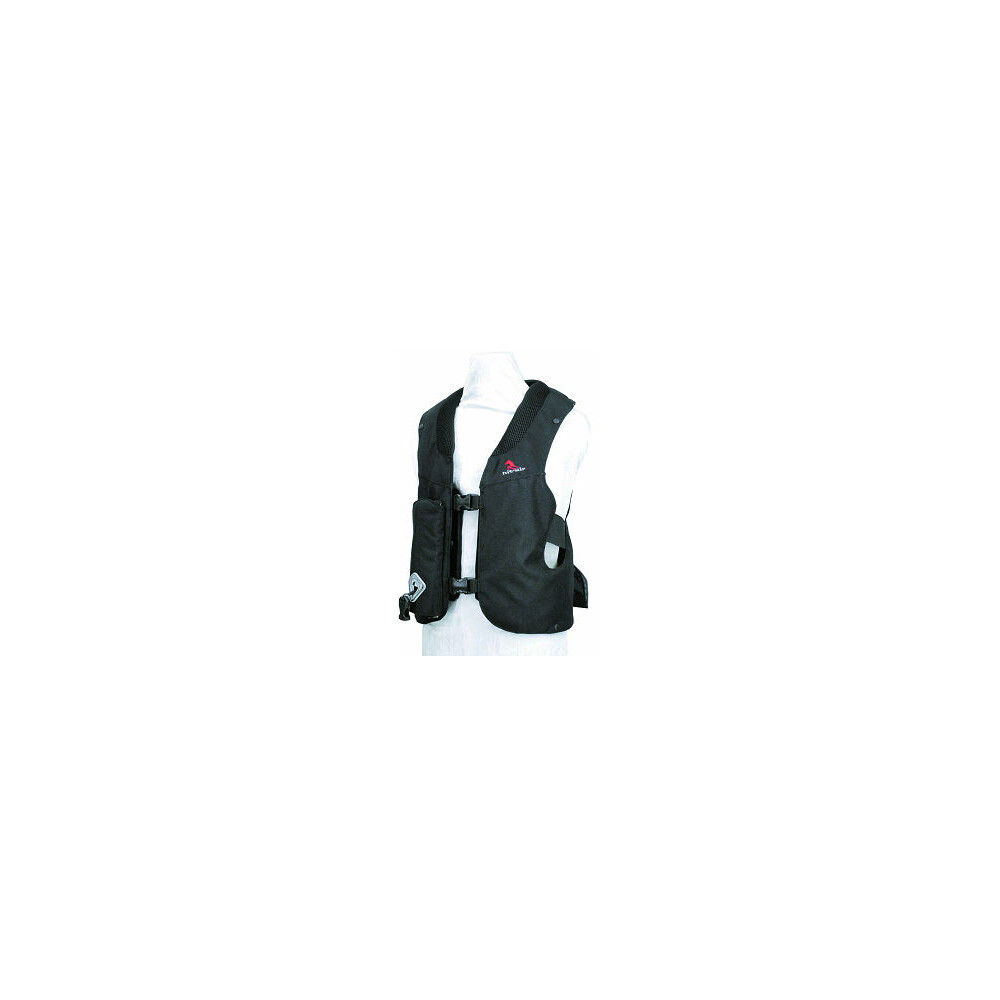 Hit-Air Junior Hit Air Vest (min weight 25kg) - Black in Black