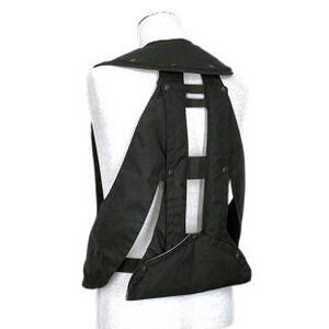 Hit-Air Adult Hit Air Vest (min weight 35kg) - Black in Black