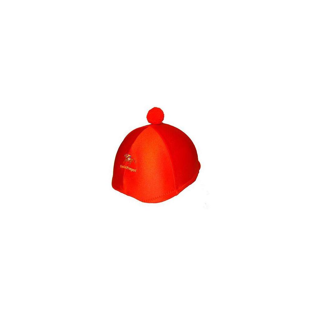 Ornella Prosperi Lycra Hat Covers with Pom-Pom in White