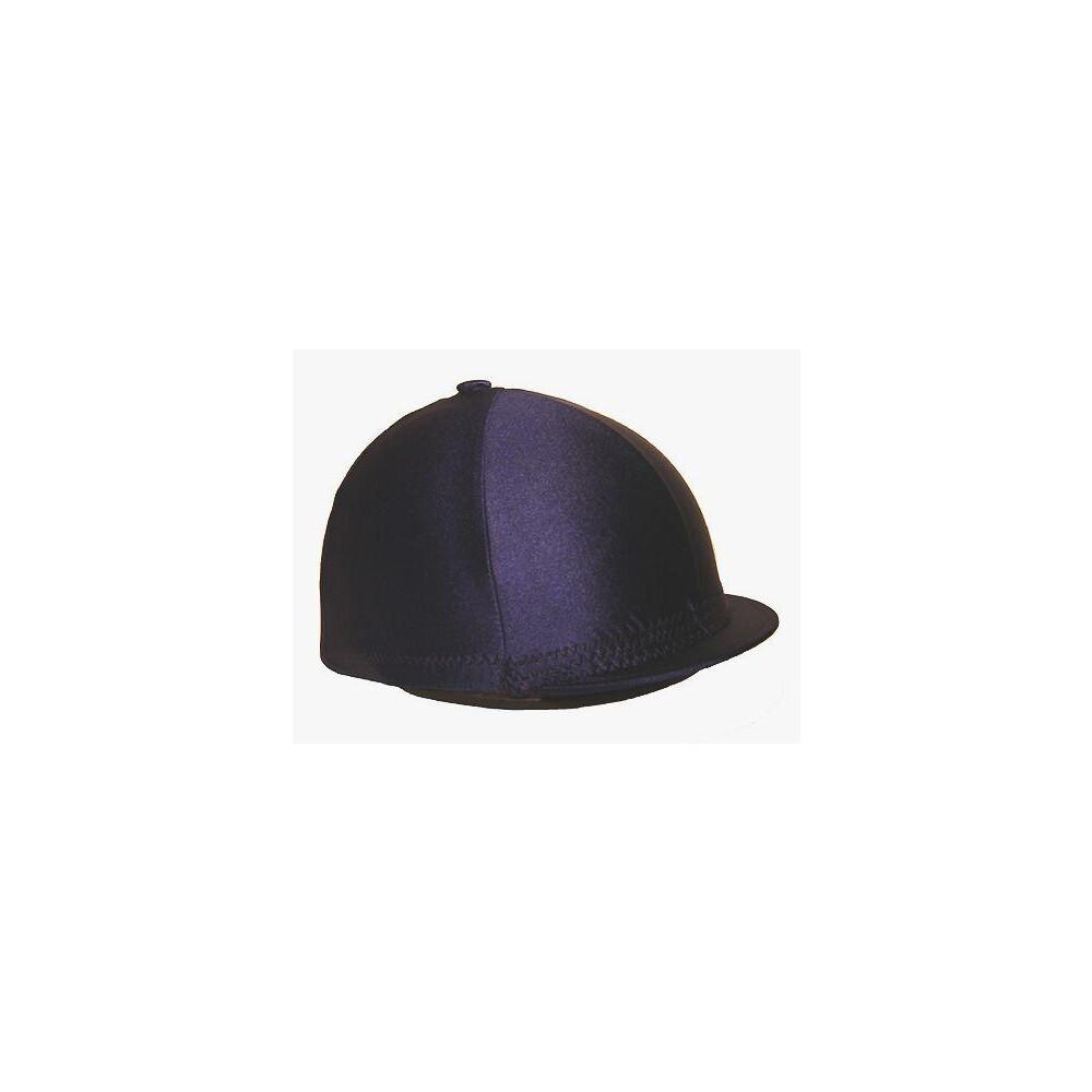 Ornella Prosperi Lycra Hat Cover with Button in Blue