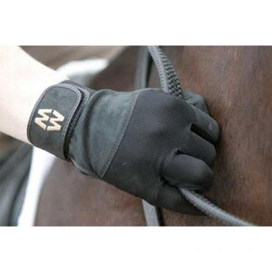 Mac Wet Aquatec Micromesh Equestrian Glove in Black