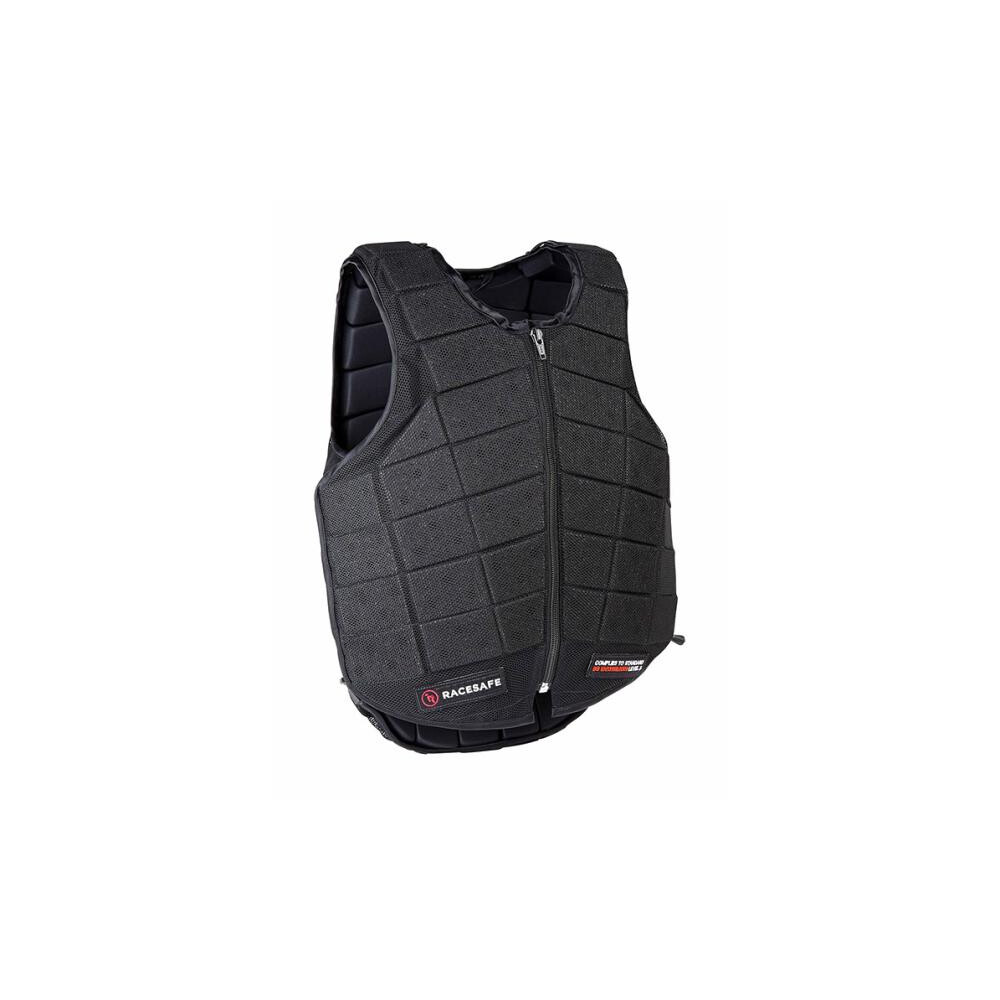 Racesafe PROVENT 3.0 - BLACK - Adult 2018 Standard - Small in Black