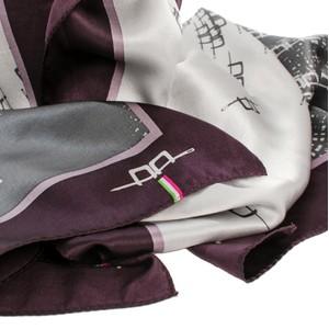 Horseware AA Silk Scarf Grey/Primatova