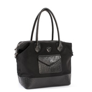 Alessandro Albanese Shopper Bag With Long Strap Black
