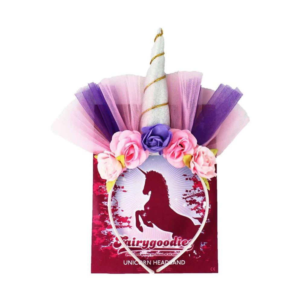 Battles Unicorn Headband in Purple