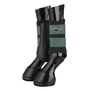 LeMieux Grafter Brushing Boot  - Hunter Green