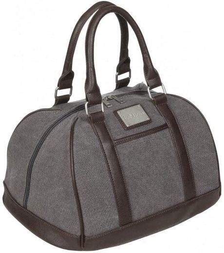 LeMieux Luxury Canvas Hat Bag - Grey in Grey