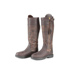 Moretta Carina Spanish Boots - Wide in Brown
