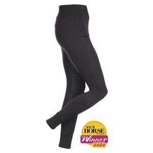 LeMieux My  Activewear Seamless Breeches - Black