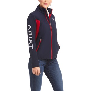 Ariat Womens New Team Softshell Navy in Navy