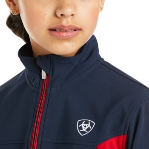 Ariat Youths Team Softshell Jacket