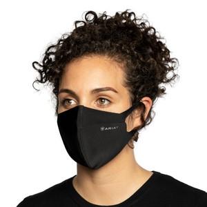 Ariat tek Face Mask Black in Black