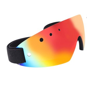 Celtic Equine Supplies Breeze Up Race Goggles - Red REVO in Red