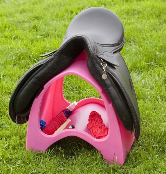 Classic Jumps Saddle Carrier in Pink