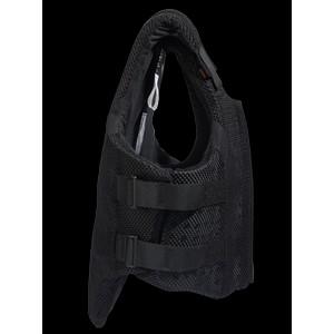 Airowear Womens AirMesh II Body Protector - Short - Black