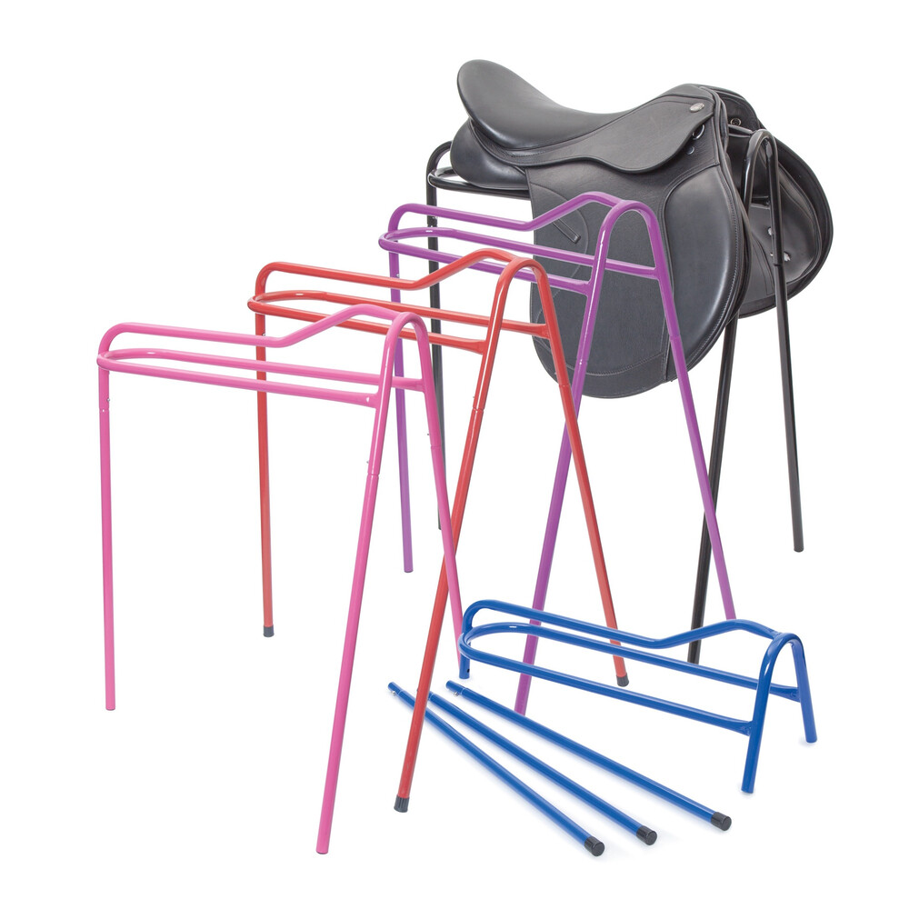 Ezi-Kit EZI-KIT Collapsible Saddle Stand in Black