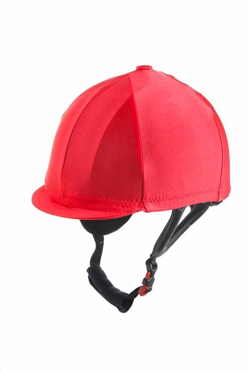 Ornella Prosperi Lycra Hat Cover with Button in Bottle Green