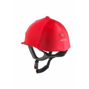 Ornella Prosperi Lycra Hat Cover with Button in Brown