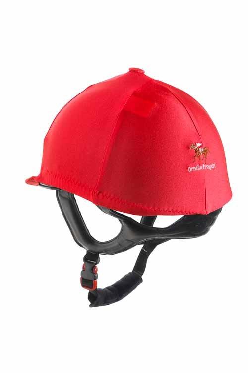 Ornella Prosperi Lycra Hat Cover with Button in Orange