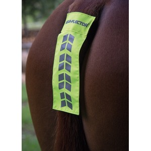 Equi-Flector EQUI-FLECTOR -Tail Strap in Yellow