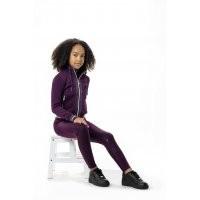 LeMieux Youth Pull On Breech - Grape