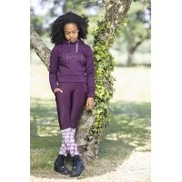 LeMieux Youth Cropped Hoodie - Grape
