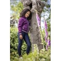 LeMieux Youth Luxe Jacket - Grape