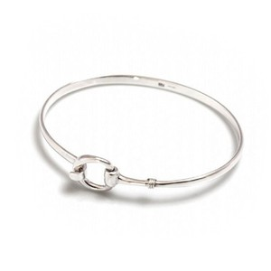 HiHo Silver Exclusive Sterling Silver Snaffle Clip Bracelet